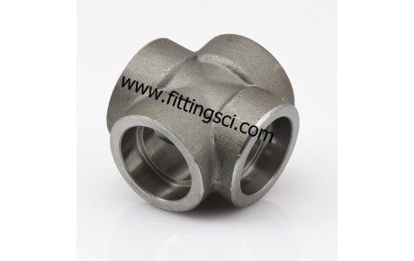 KURUVA Astm A105 Dövme Karbon Çelik Soket Kaynaklı