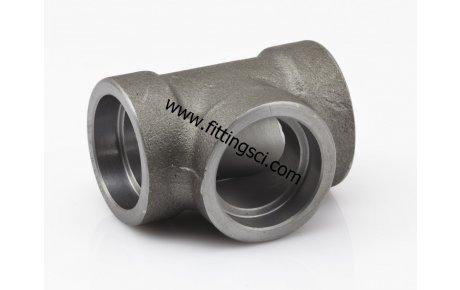 TE Astm A105 Dövme Karbon Çelik Soket Kaynaklı