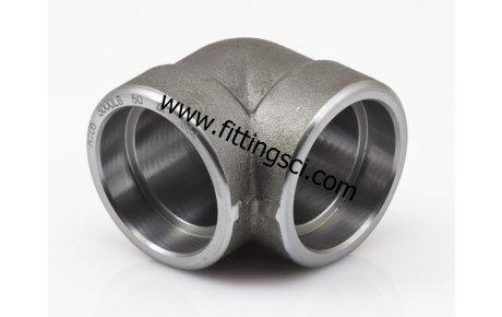 DİRSEK 90 Derece Astm A105 Dövme Karbon Çelik Soket Kaynaklı
